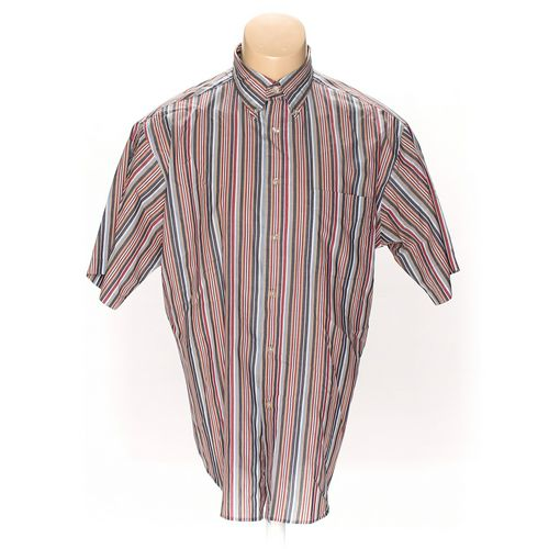 Roundtree & Yorke Button-down Short Sleeve Shirt in size L at up to 95% Off - Swap.com