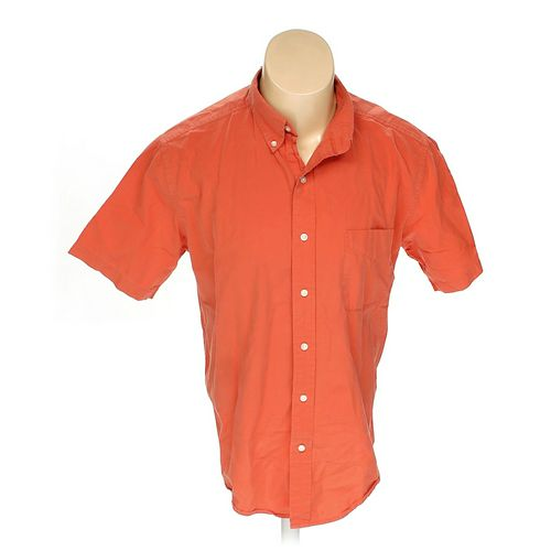 St. John's Bay Button-down Short Sleeve Shirt in size L at up to 95% Off - Swap.com