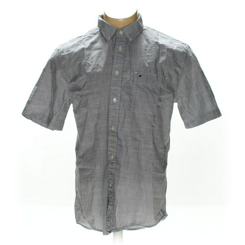 Tommy Hilfiger Button-down Short Sleeve Shirt in size L at up to 95% Off - Swap.com