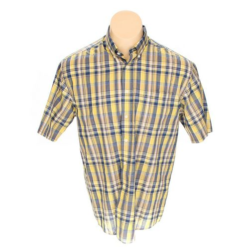 Towncraft Button-down Short Sleeve Shirt in size L at up to 95% Off - Swap.com