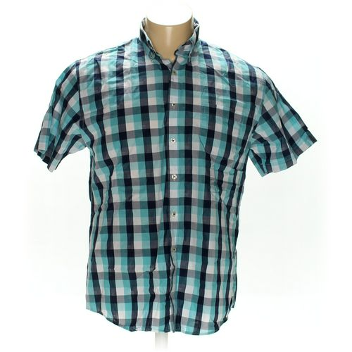 Van Heusen Button-down Short Sleeve Shirt in size XL at up to 95% Off - Swap.com