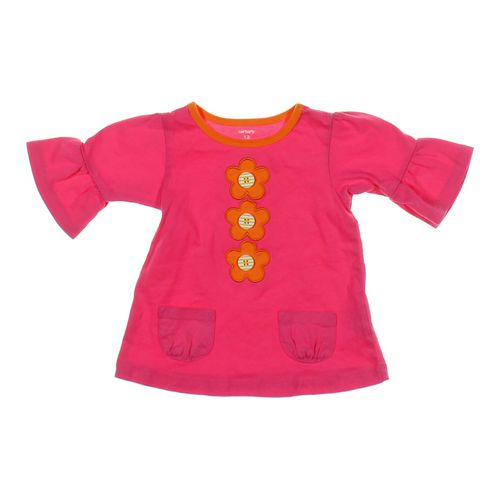 Carter's Button Flower Tunic in size 12 mo at up to 95% Off - Swap.com