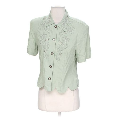 Stonebridge Button-up Blouse in size 6 at up to 95% Off - Swap.com