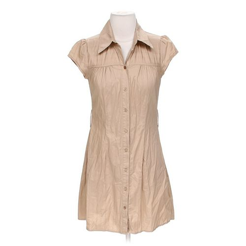IZ Byer Button-up Dress in size S at up to 95% Off - Swap.com