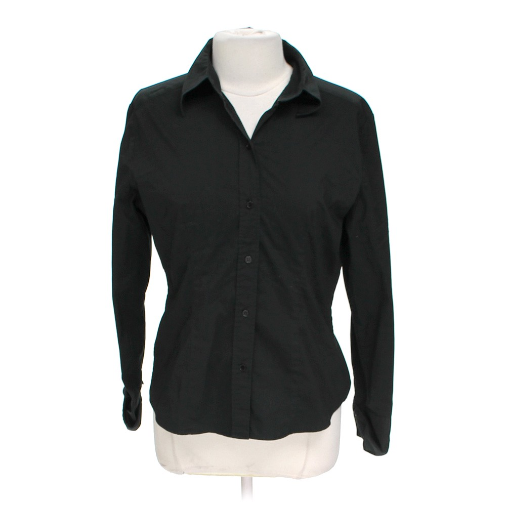 New york company button up dress shirt online consignment for New york and company dress shirts