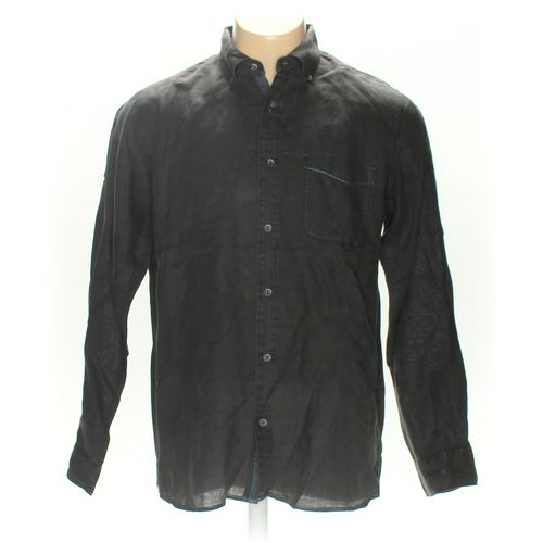 32 Bar Blues Button-up Long Sleeve Shirt in size L at up to 95% Off - Swap.com