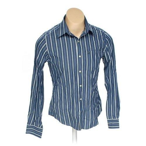 Abercrombie & Fitch Button-up Long Sleeve Shirt in size M at up to 95% Off - Swap.com