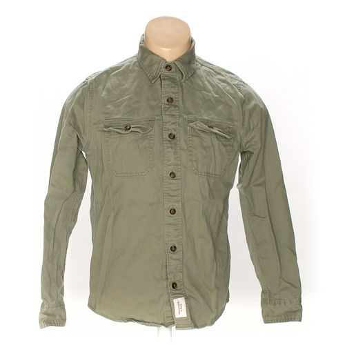 Abercrombie & Fitch Button-up Long Sleeve Shirt in size S at up to 95% Off - Swap.com
