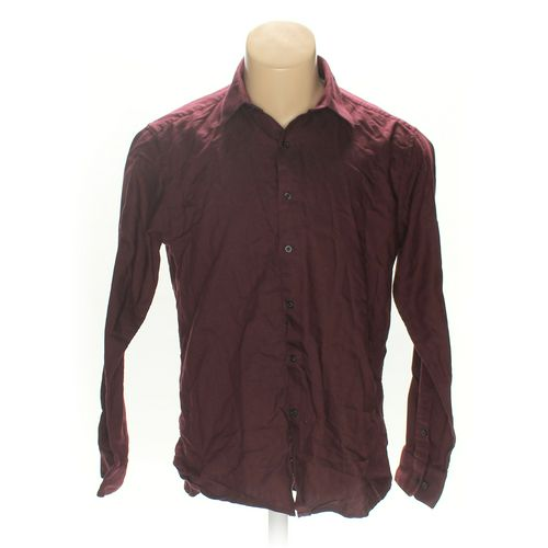Alfani Button-up Long Sleeve Shirt in size L at up to 95% Off - Swap.com