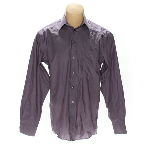 Alfani Button-up Long Sleeve Shirt in size M at up to 95% Off - Swap.com
