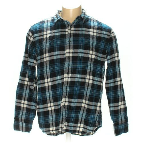 American Eagle Outfitters Button-up Long Sleeve Shirt in size XXL at up to 95% Off - Swap.com