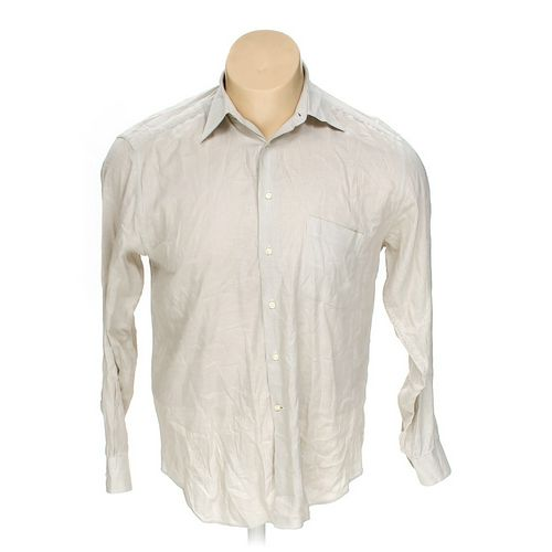 "Bagutta Button-up Long Sleeve Shirt in size 42"" Chest at up to 95% Off - Swap.com"