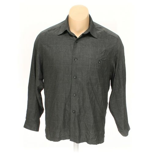 """Button-up Long Sleeve Shirt in size 54"""" Chest at up to 95% Off - Swap.com"""