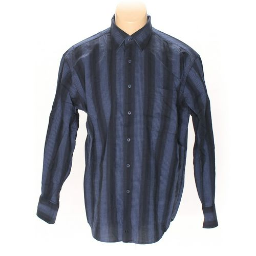 Bill Blass Button-up Long Sleeve Shirt in size L at up to 95% Off - Swap.com