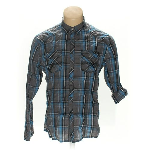 "BKE Button-up Long Sleeve Shirt in size 44"" Chest at up to 95% Off - Swap.com"