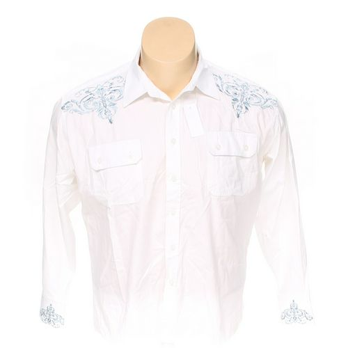BLUE iNK Button-up Long Sleeve Shirt in size 2XL at up to 95% Off - Swap.com