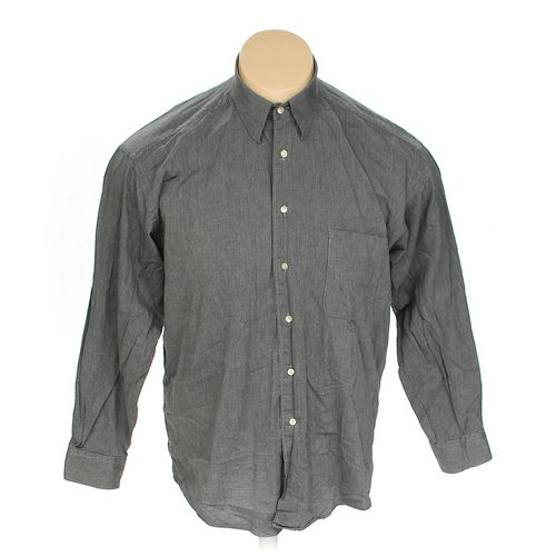 """BRANDINI Button-up Long Sleeve Shirt in size 52"""" Chest at up to 95% Off - Swap.com"""