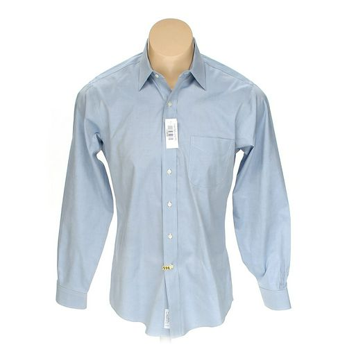 "Brooks Brothers Button-up Long Sleeve Shirt in size 44"" Chest at up to 95% Off - Swap.com"