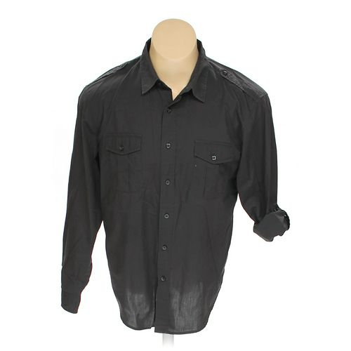 Bruno Menswear Button-up Long Sleeve Shirt in size L at up to 95% Off - Swap.com