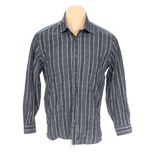 Bugatchi Uomo Button-up Long Sleeve Shirt in size XL at up to 95% Off - Swap.com