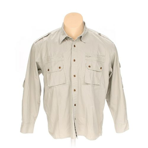 Cabela's Button-up Long Sleeve Shirt in size XL at up to 95% Off - Swap.com