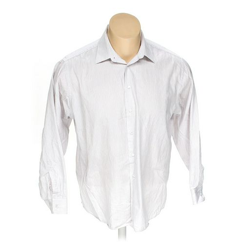 "Calvin Klein Button-up Long Sleeve Shirt in size 48"" Chest at up to 95% Off - Swap.com"