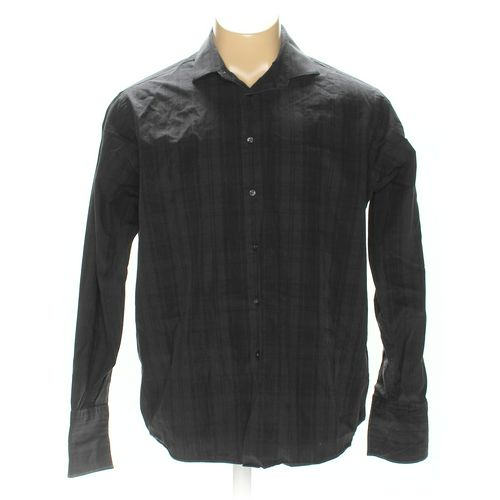 """Calvin Klein Button-up Long Sleeve Shirt in size 52"""" Chest at up to 95% Off - Swap.com"""