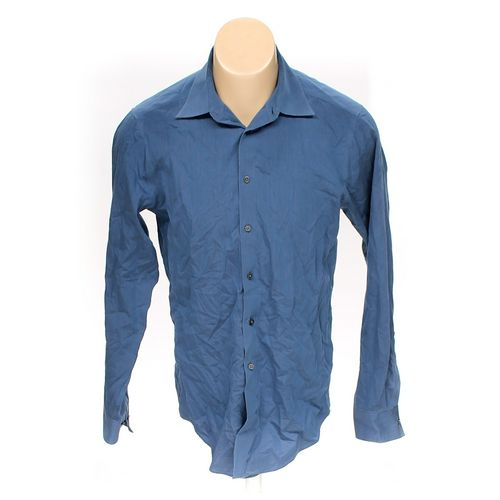 Calvin Klein Button-up Long Sleeve Shirt in size M at up to 95% Off - Swap.com