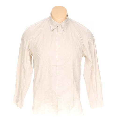 Calvin Klein Button-up Long Sleeve Shirt in size XL at up to 95% Off - Swap.com