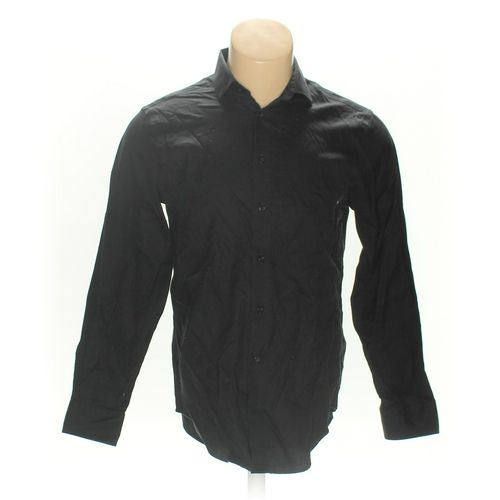 """Calvin Klein Button-up Long Sleeve Shirt in size 40"""" Chest at up to 95% Off - Swap.com"""