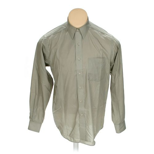 """Cambridge Classics Button-up Long Sleeve Shirt in size 48"""" Chest at up to 95% Off - Swap.com"""