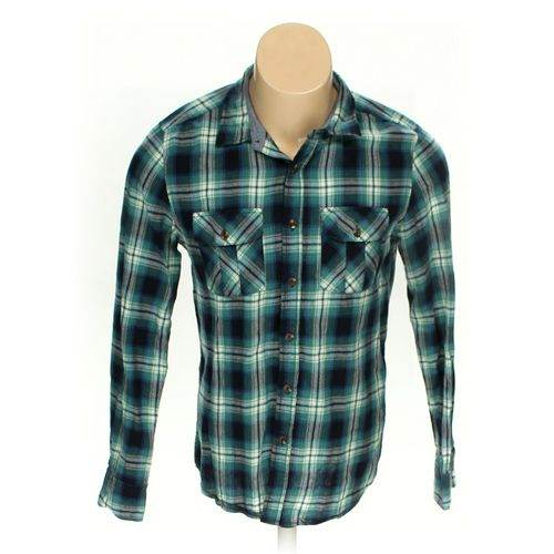 Carbon Clothing Button-up Long Sleeve Shirt in size M at up to 95% Off - Swap.com