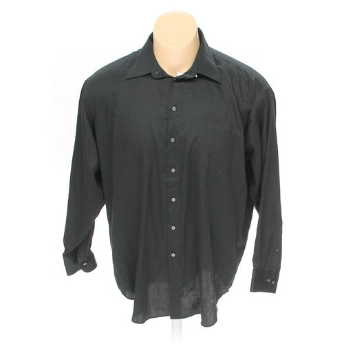 "Claiborne Button-up Long Sleeve Shirt in size 58"" Chest at up to 95% Off - Swap.com"