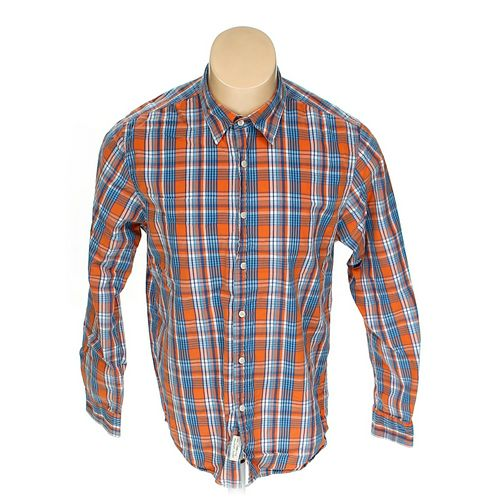 Club Room Button-up Long Sleeve Shirt in size L at up to 95% Off - Swap.com