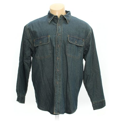 Covington Button-up Long Sleeve Shirt in size XXL at up to 95% Off - Swap.com