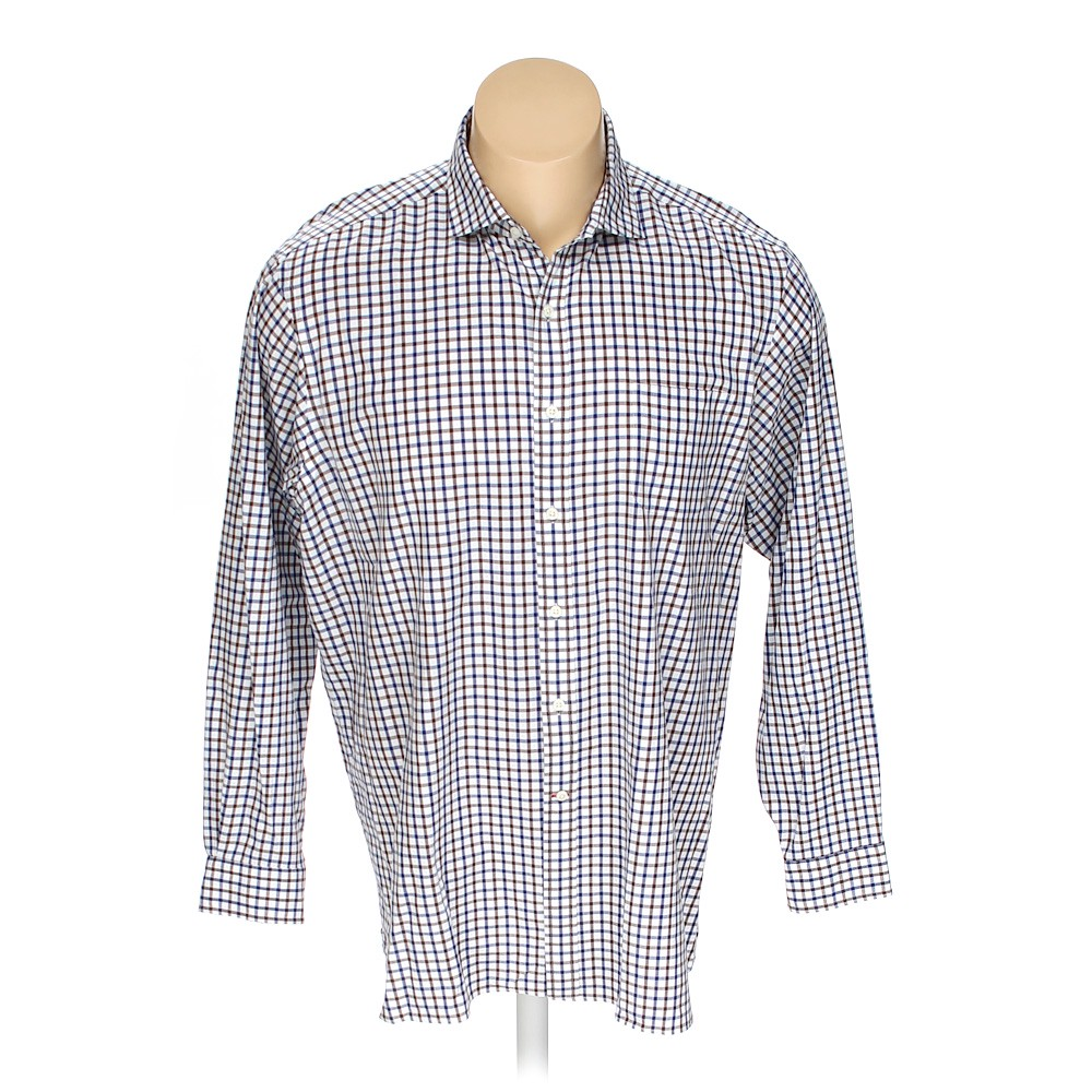 46e110acf69 Cremieux Button-up Long Sleeve Shirt in size XXL at up to 95% Off