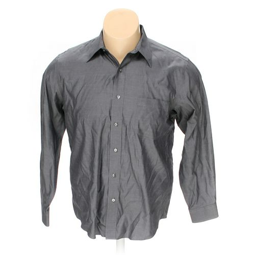 """Croft & Barrow Button-up Long Sleeve Shirt in size 58"""" Chest at up to 95% Off - Swap.com"""