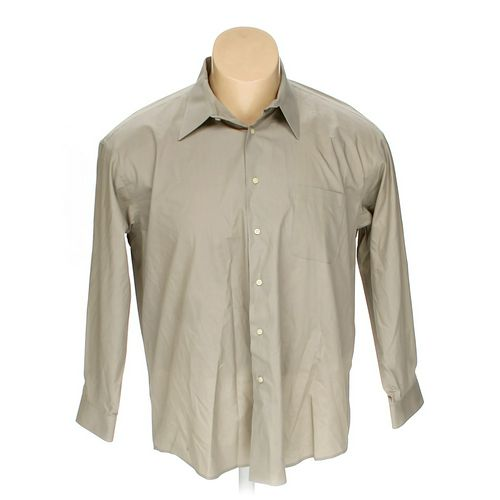 "Croft & Barrow Button-up Long Sleeve Shirt in size 60"" Chest at up to 95% Off - Swap.com"