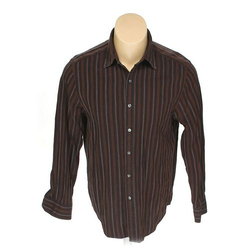 DKNY Button-up Long Sleeve Shirt in size L at up to 95% Off - Swap.com