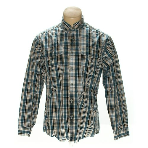 Eddie Bauer Button-up Long Sleeve Shirt in size L at up to 95% Off - Swap.com