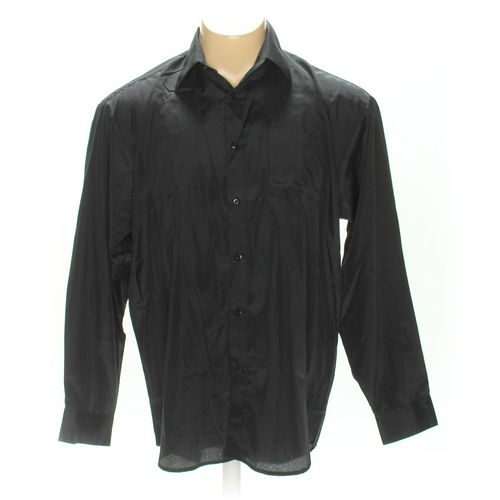 ENRICO ROSSINI Button-up Long Sleeve Shirt in size L at up to 95% Off - Swap.com