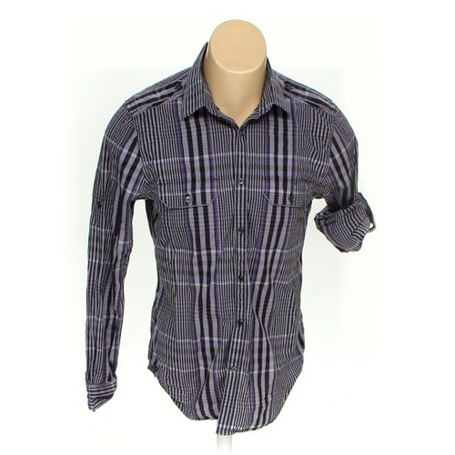 "Express Button-up Long Sleeve Shirt in size 40"" Chest at up to 95% Off - Swap.com"