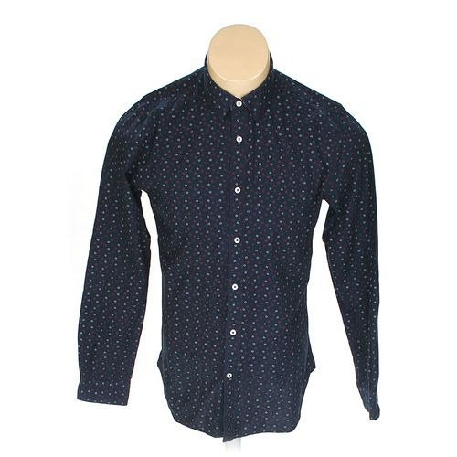 Express Button-up Long Sleeve Shirt in size M at up to 95% Off - Swap.com