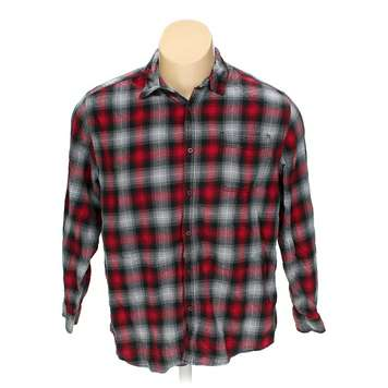 0e5eac3ca61d Faded Glory Button-up Long Sleeve Shirt in size 2XL at up to 95% Off - Swap .com