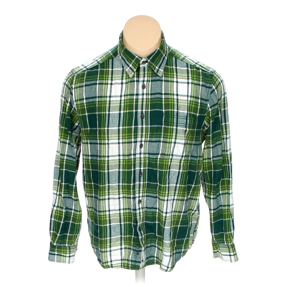 8571c3670de2 Faded Glory Button-up Long Sleeve Shirt in size 42
