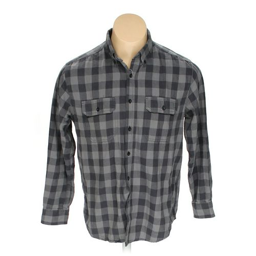 "Faded Glory Button-up Long Sleeve Shirt in size 42"" Chest at up to 95% Off - Swap.com"