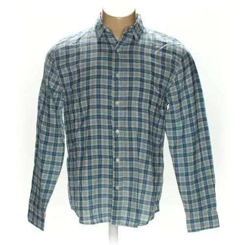 Faherty Button-up Long Sleeve Shirt in size L at up to 95% Off - Swap.com