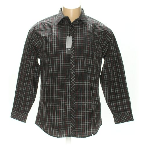 Galaxy By Harvic Button-up Long Sleeve Shirt in size XL at up to 95% Off - Swap.com