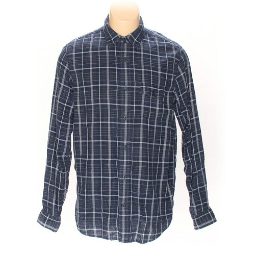 Gap Button-up Long Sleeve Shirt in size L at up to 95% Off - Swap.com