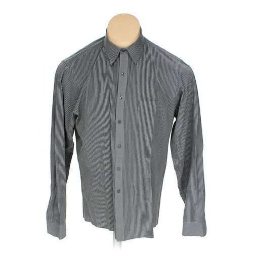 """Geoffrey Beene Button-up Long Sleeve Shirt in size 46"""" Chest at up to 95% Off - Swap.com"""